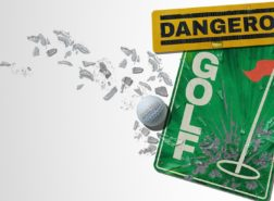 dangerous golf header