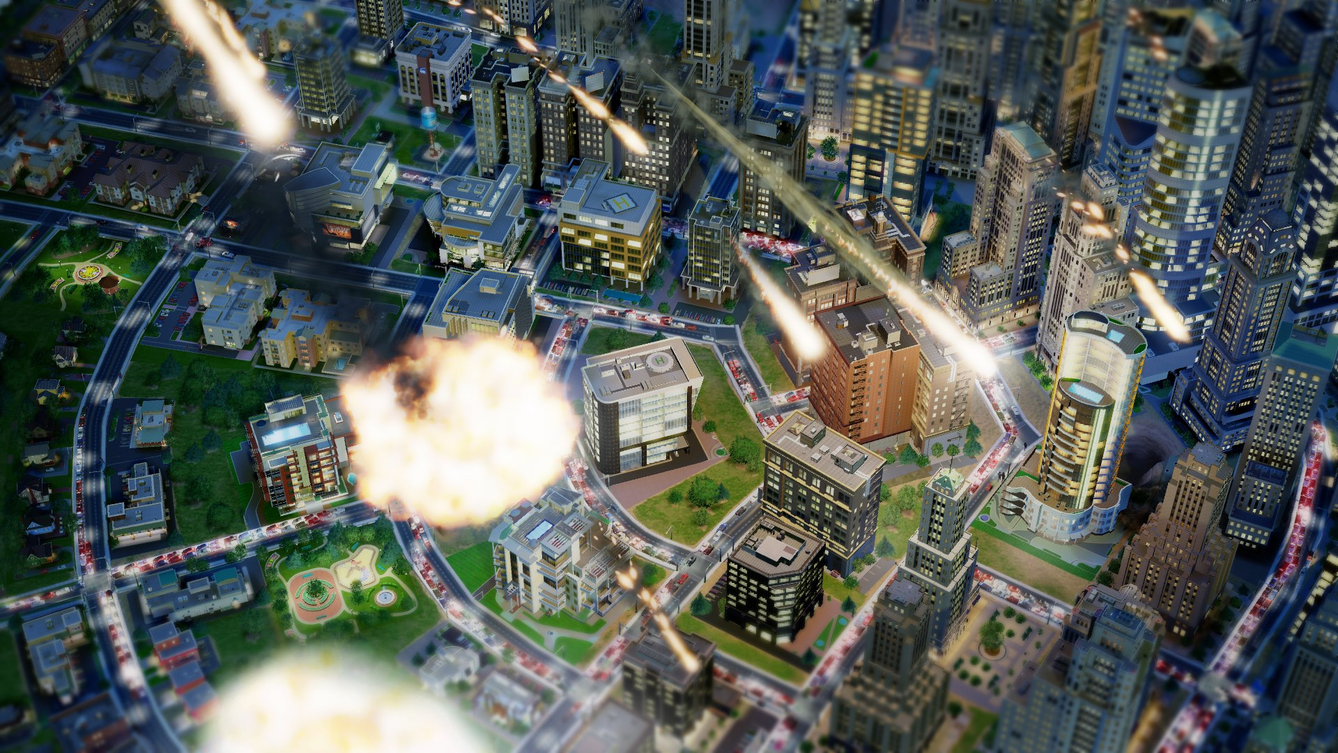 Simcity-Meteor-Disaster