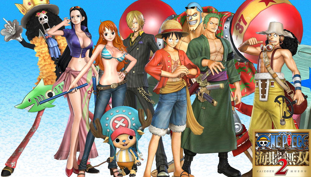 one_piece_pirate_warriors_2_wallpaper__1_strawhats_by_machineguntimz80-d5xnrsy