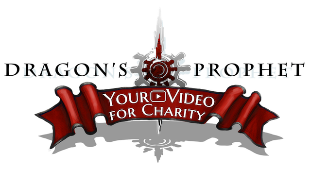 DP Your Video For Charity Logo Black