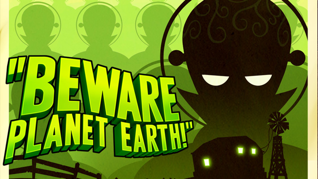 Beware planet earth! cover