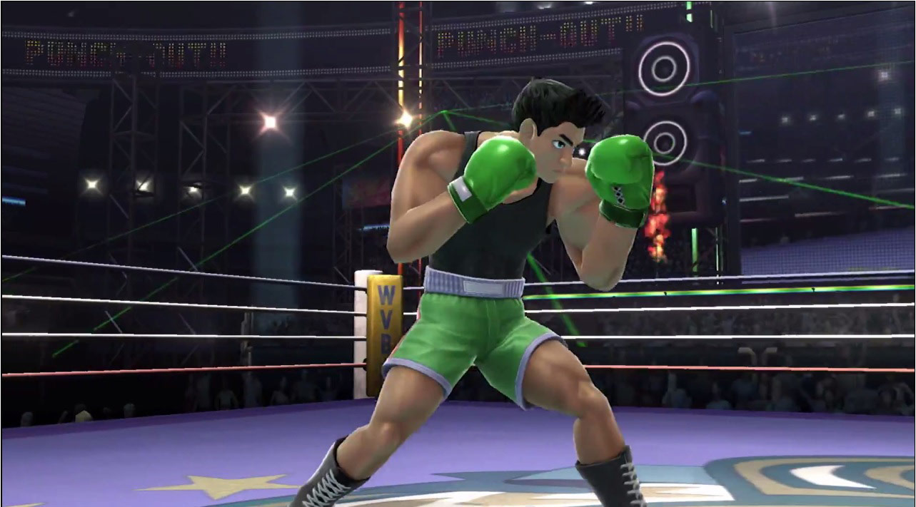 Little mac Smash 4