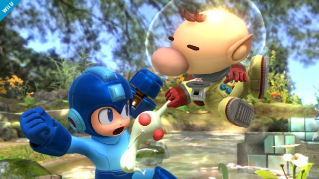Mega Man, Olimar Smash 4