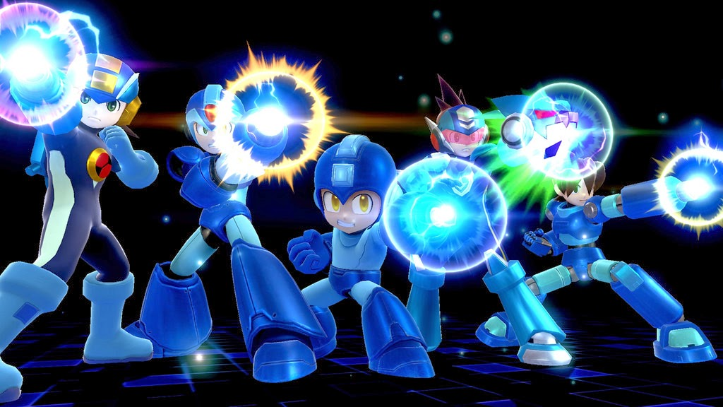 Mega man Smash 4