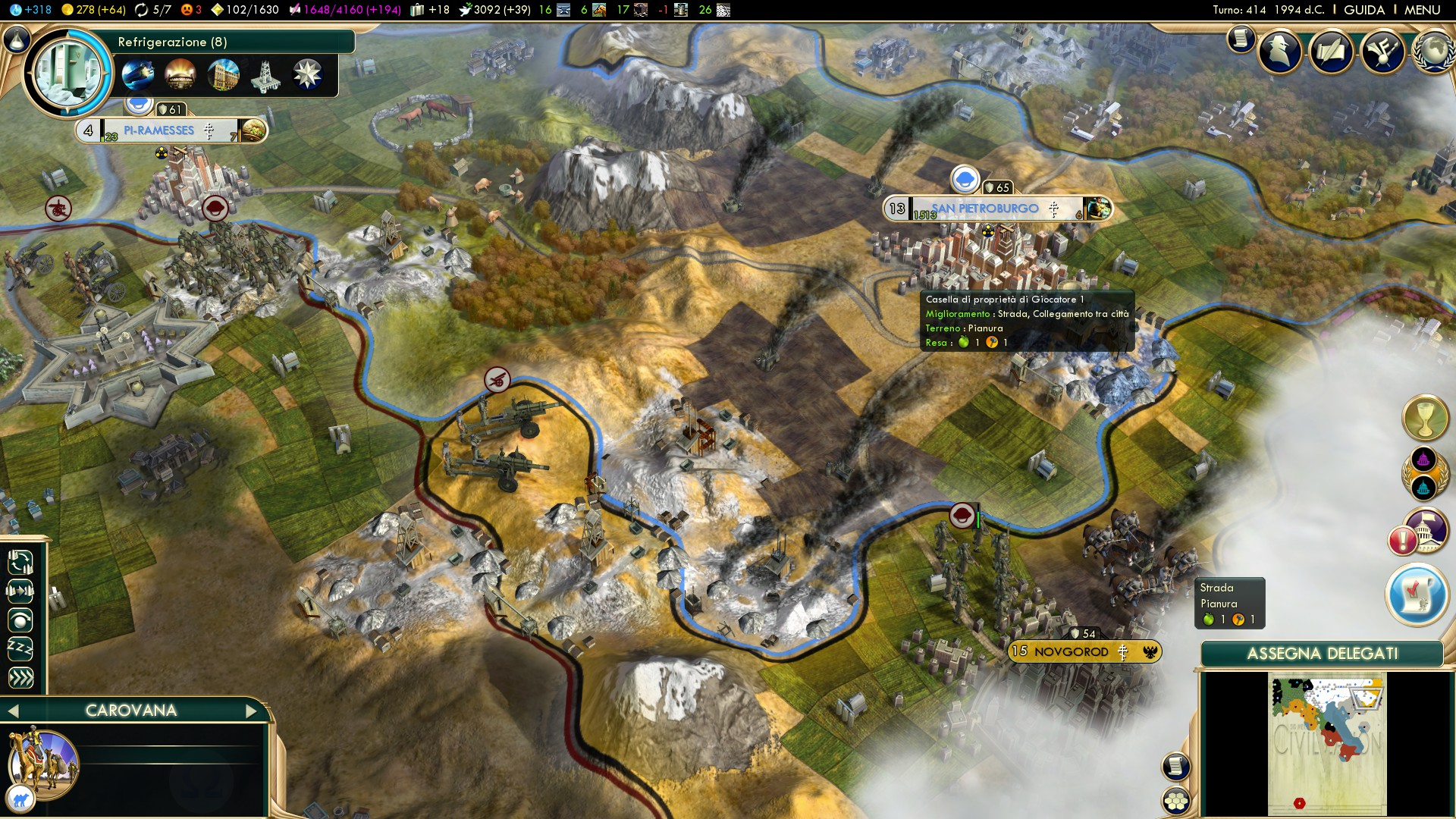 Civ - gameplay