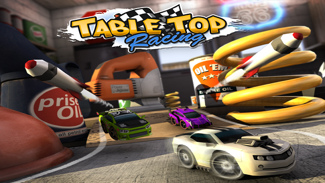 Table Top Racing - head