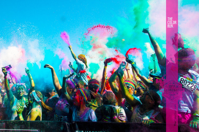 2014 MLB All-Star Color Run Presented by Nike