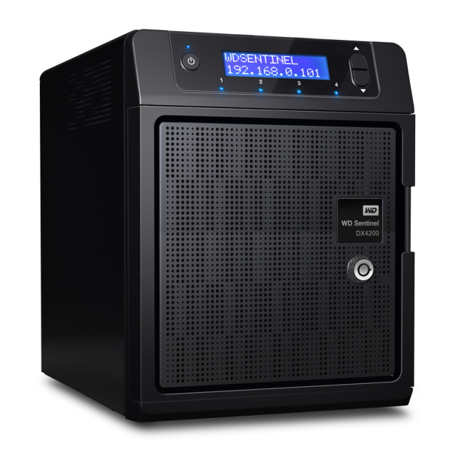 WD Sentinel DX4200 front