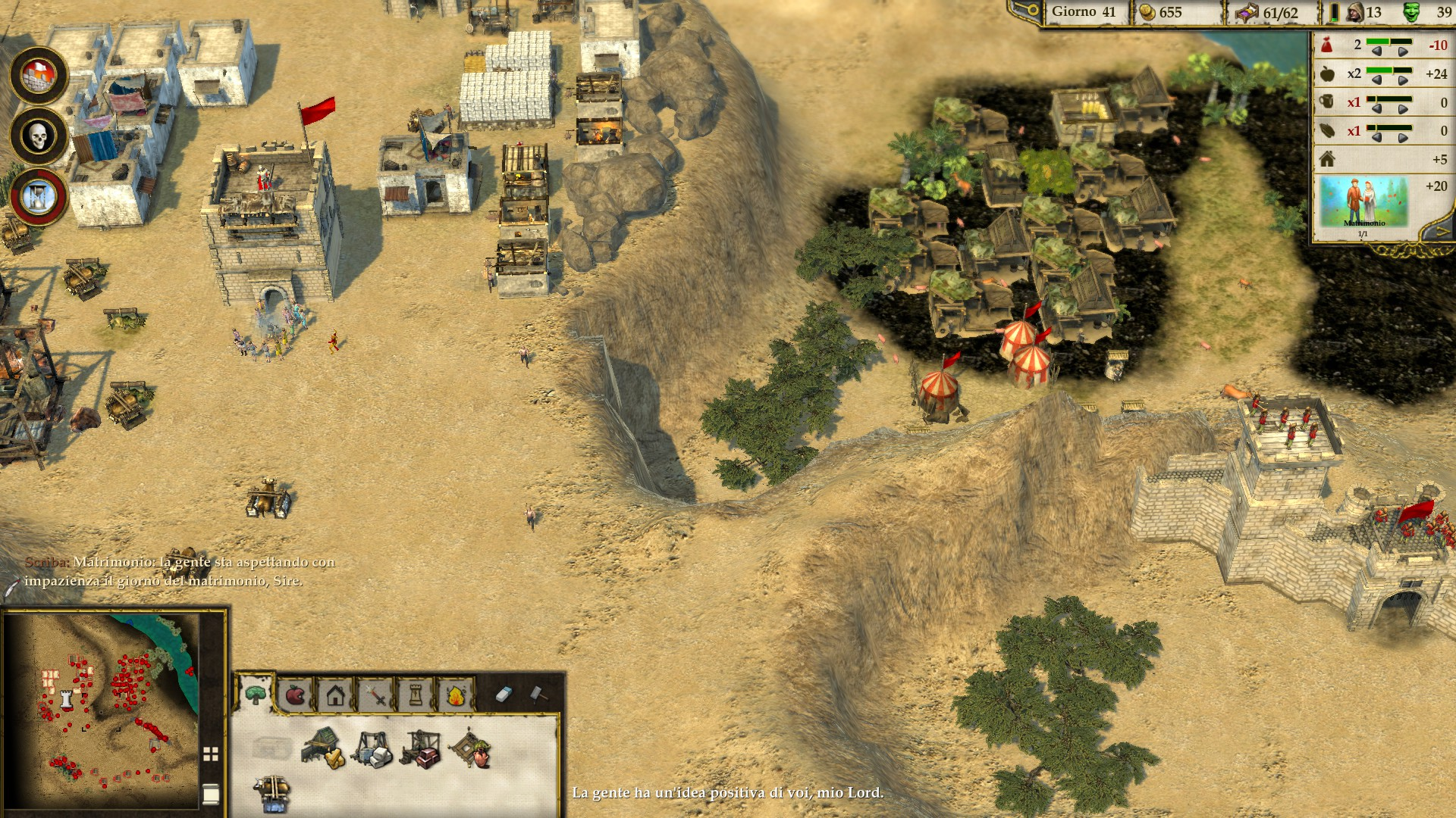 Stronghold Crusader II - fortezza