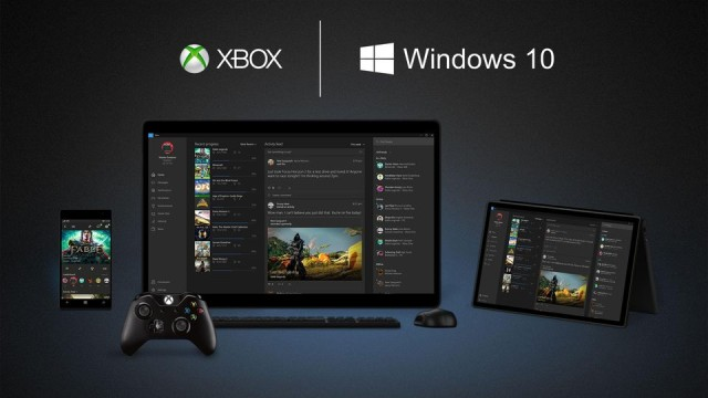 Windows 10 stream Xbox ONE