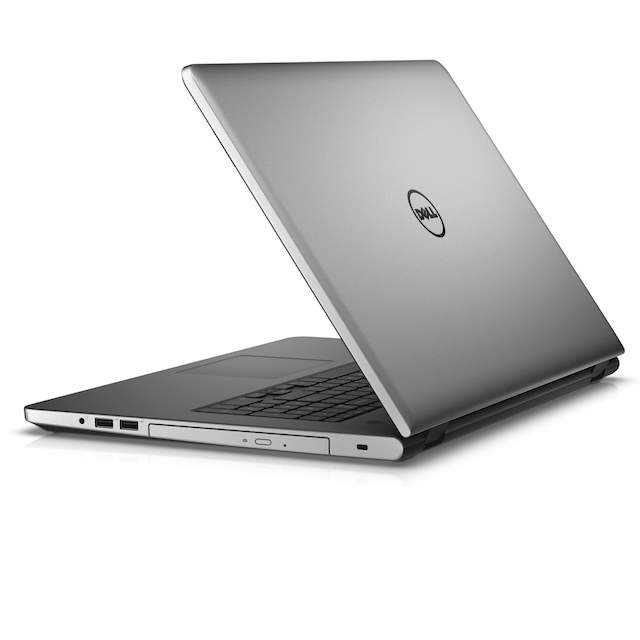 Dell Inspiron 17 5000 Series (Model 5758) Touch 17-inch notebook computer, codename Tulip 17, in Theoretical Gray with a Broadwell (BDW) processor.