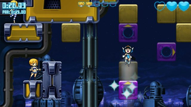 Mighty Switch Force! Hyper Drive Edition 3