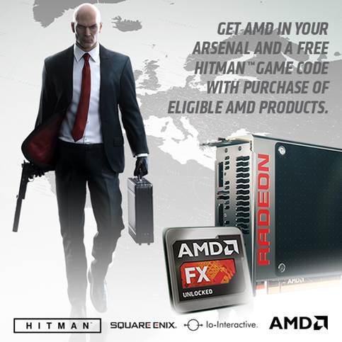 AMD bundle Hitman