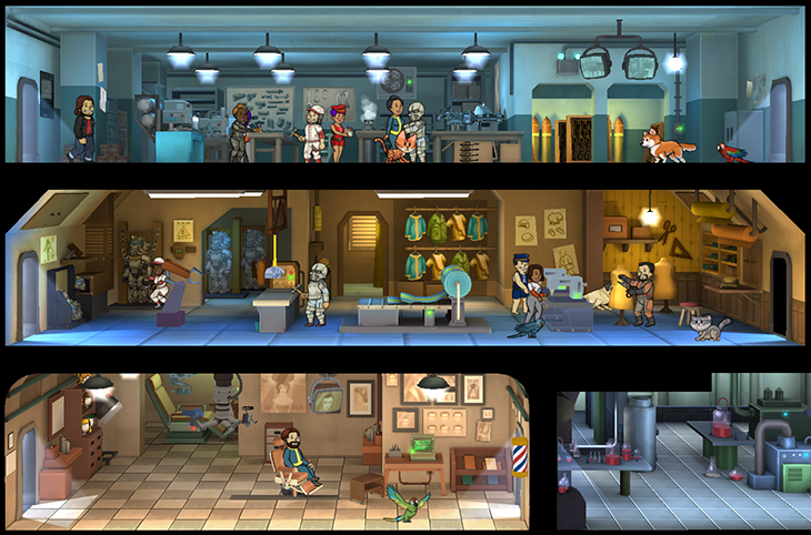 Fallout Shelter - Update 1.4 a