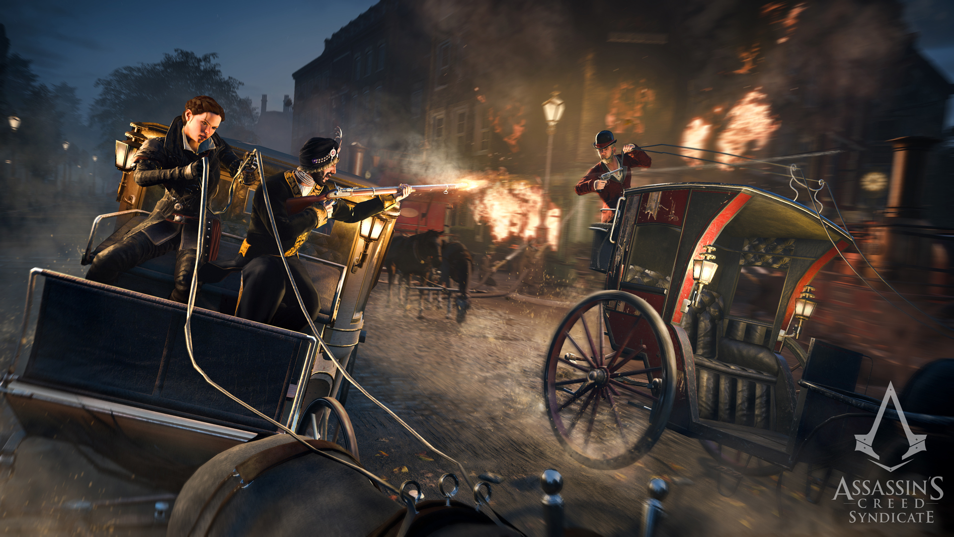 Assassin's Creed Syndicate L' Ultimo Maharaja Carriage Chase