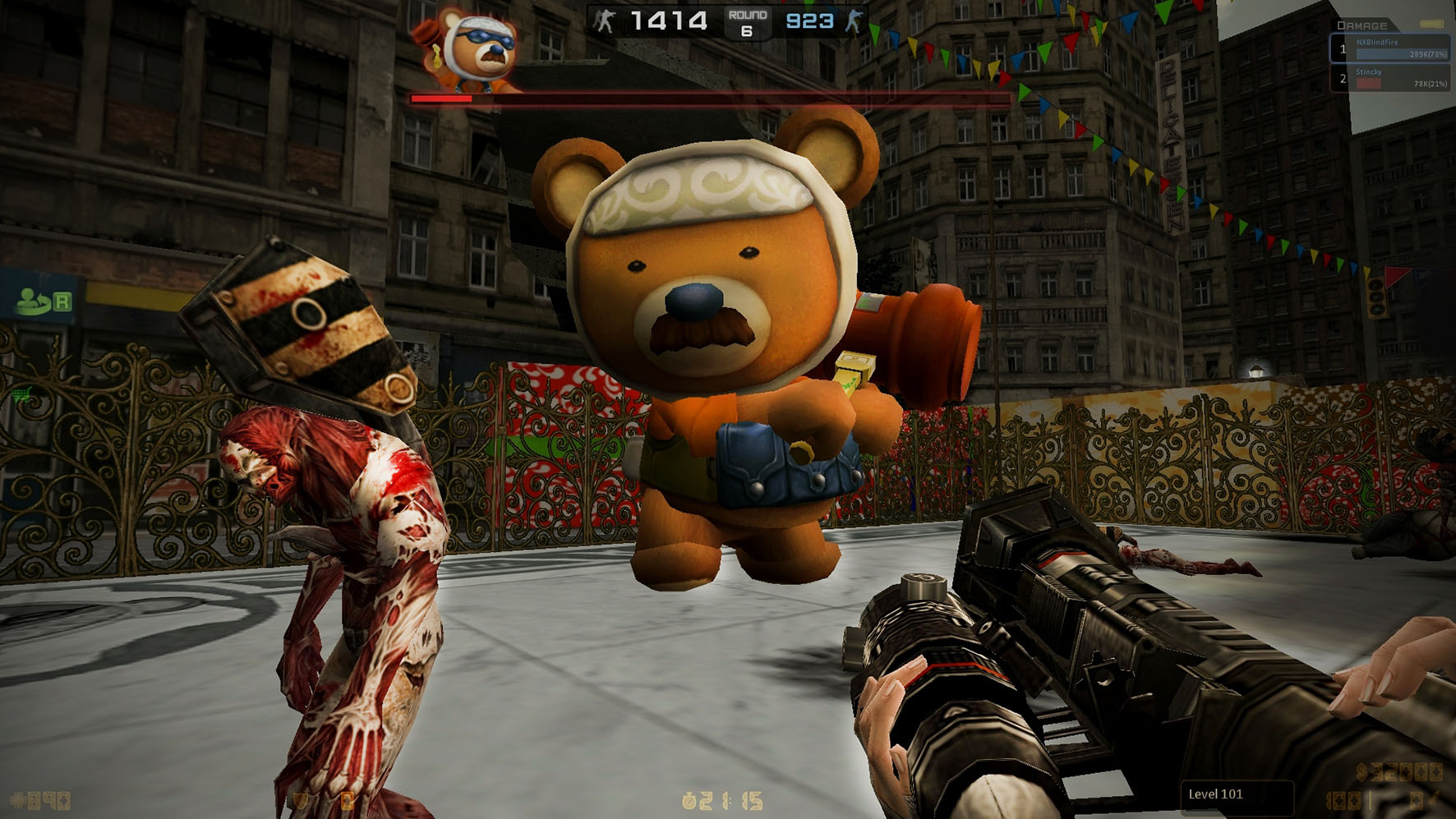 Counter-Strike Nexon Zombies TeddyFight