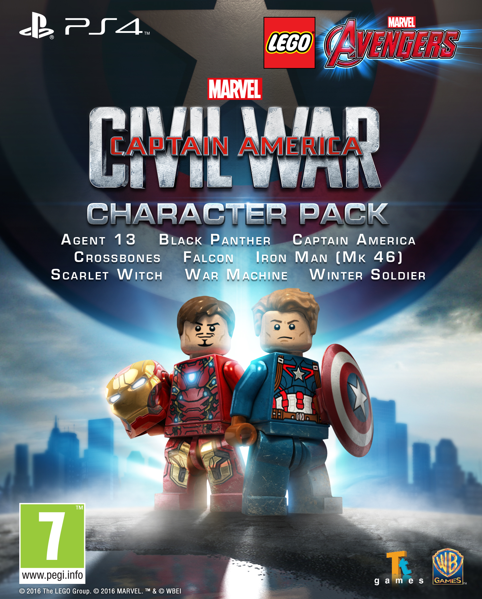 LEGO Marvel's Avengers Character Pack Captain America Civil War