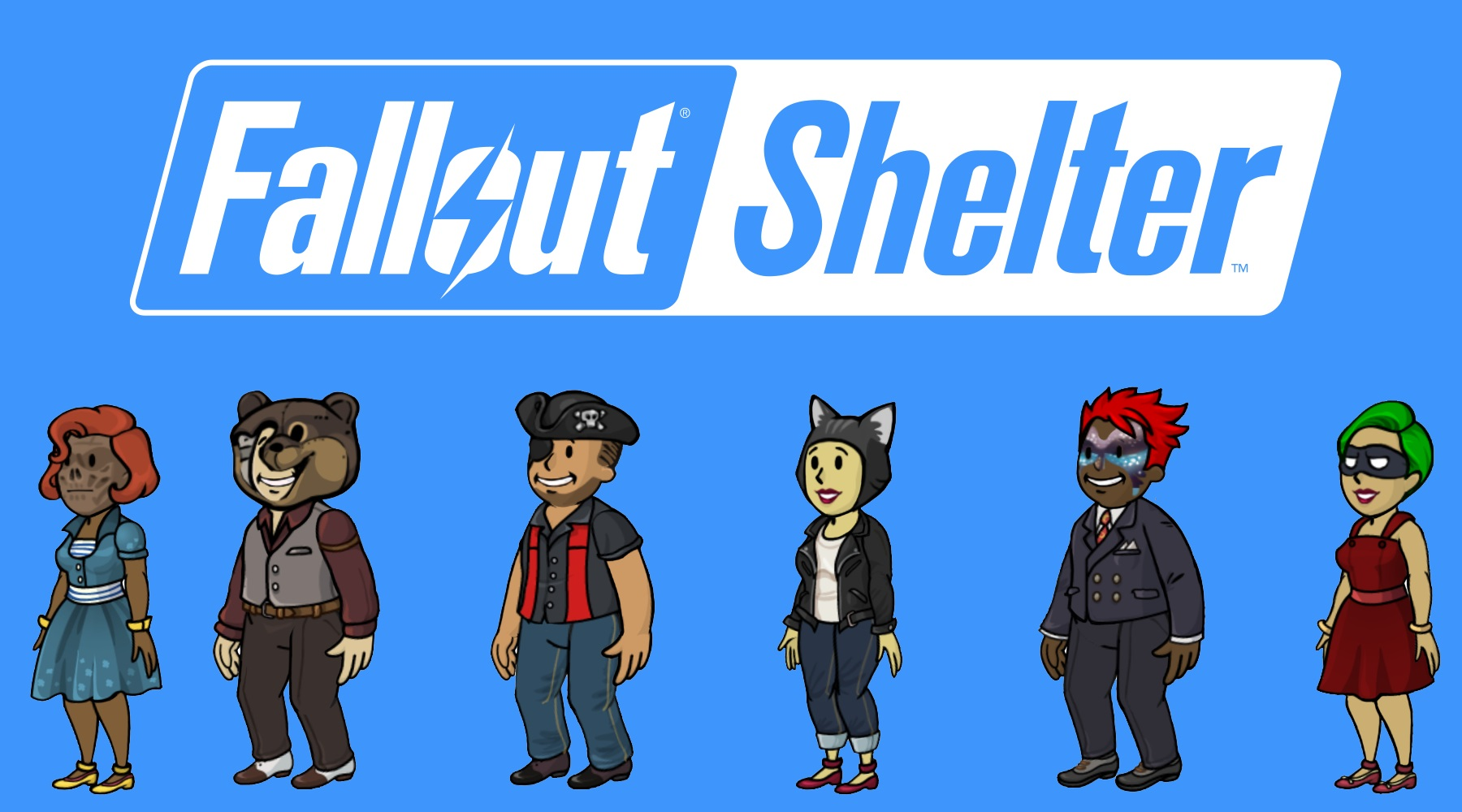 Fallout Shelter New Outfits