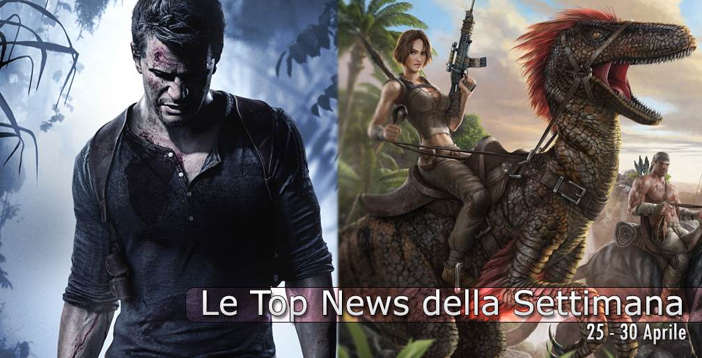 Photo of Le Top News della Settimana: Uncharted 4, One Piece, ARK: Survival Evolved, Gears of War 4, Dead Island…