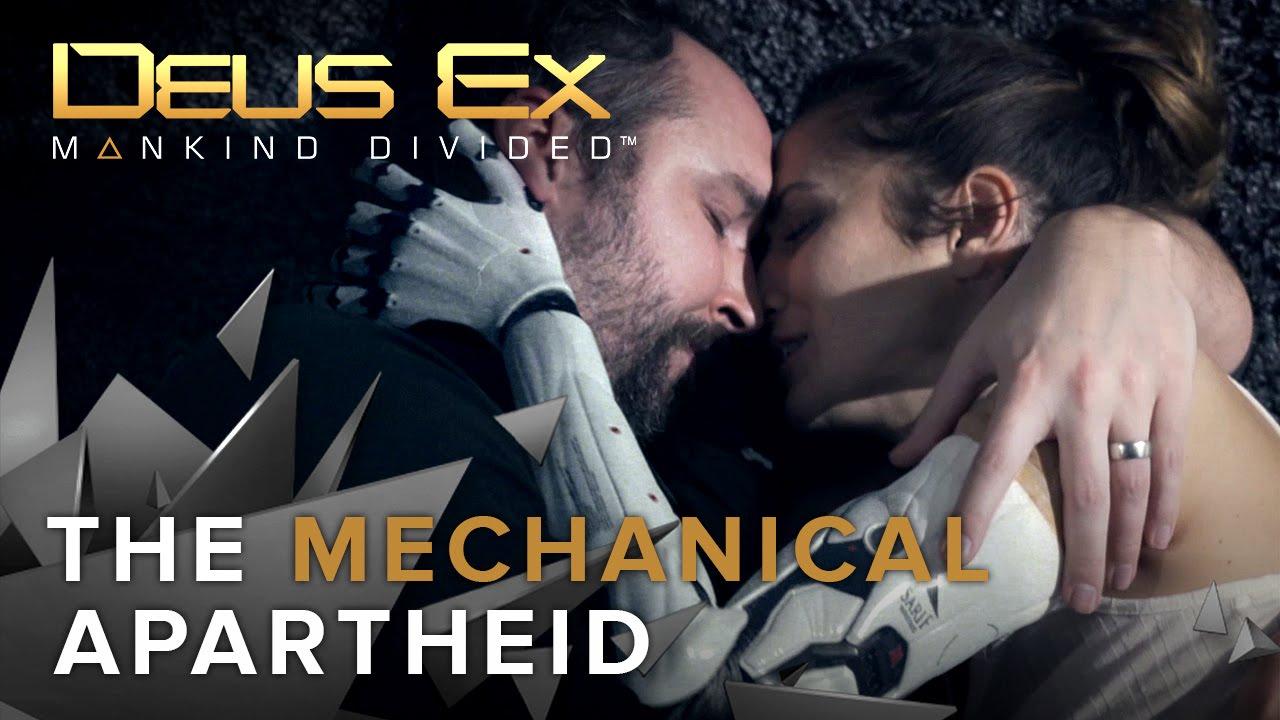 Deus Ex Mankind Divided The Mechanical Apartheid