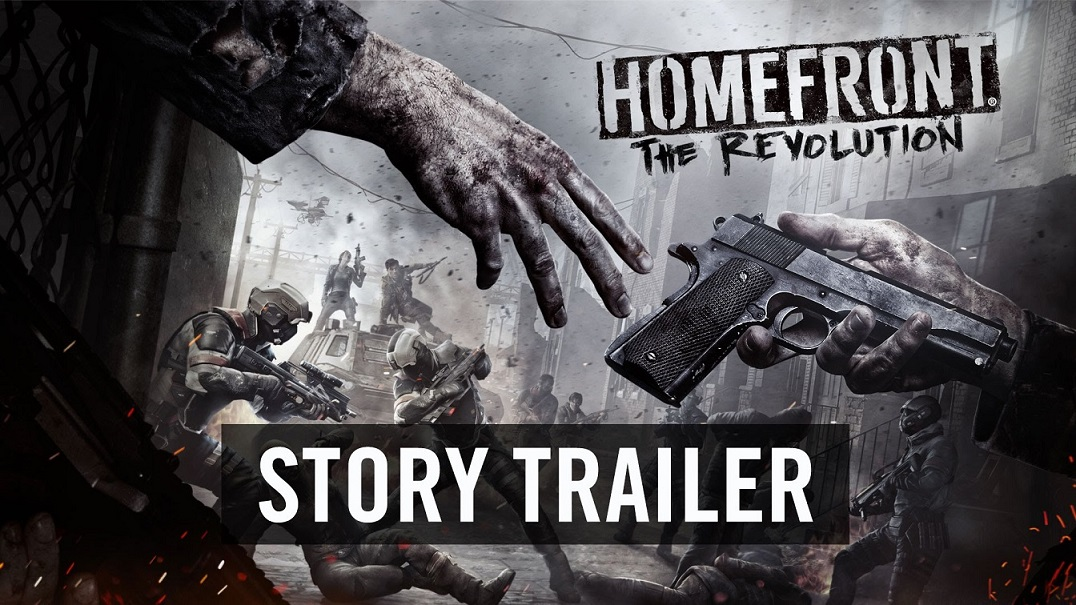 Homefront The Revolution Story Trailer