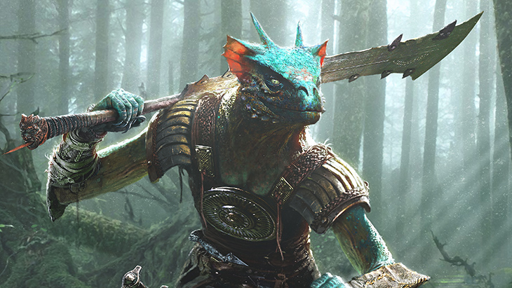 The Elder Scrolls Legends Argonian