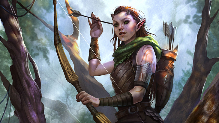 The Elder Scrolls Legends Wood Elf