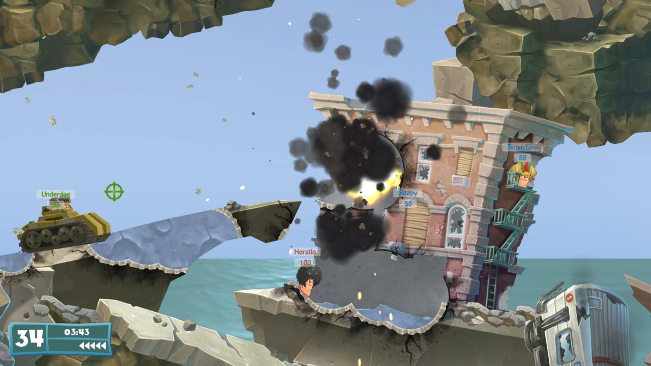 Worms WMD screenshot01
