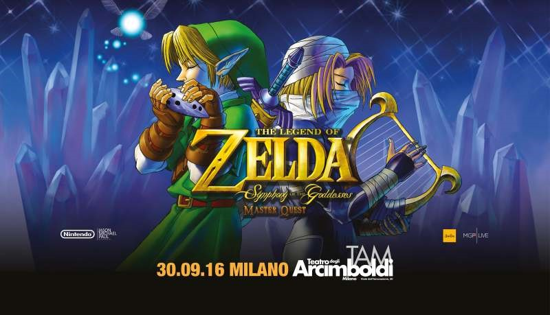 The Legend of Zelda Symphony of the Goddesses – Master Quest Milano
