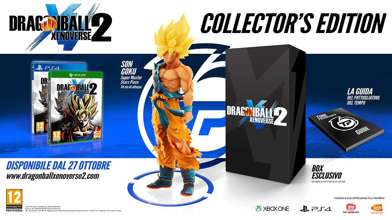 edizioni speciali di Dragon Ball Xenoverse 2 Collectors Edition