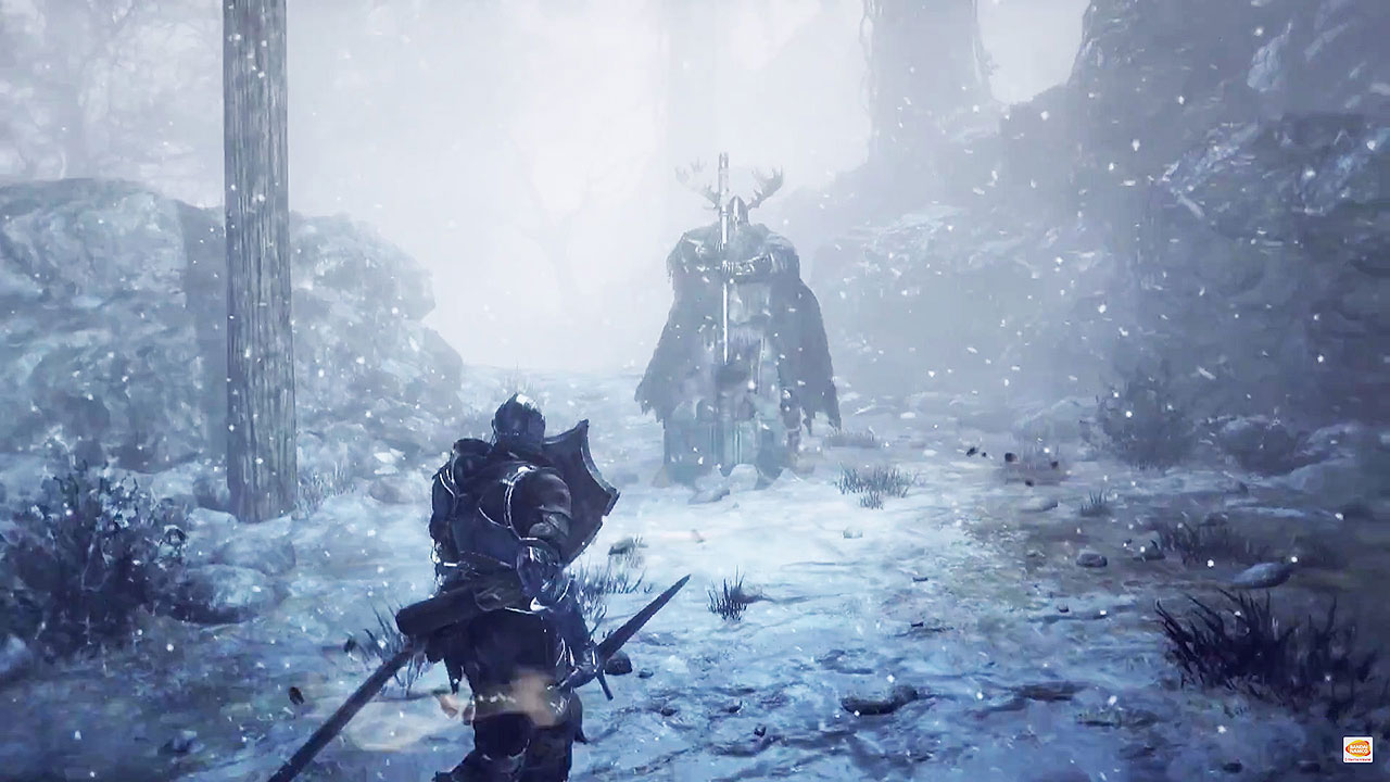 Dark Souls III gameplay Ashes of Ariandel TGS