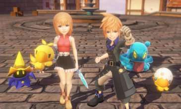 World of Final Fantasy è disponibile su PC