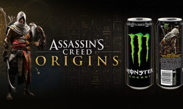 Partnership tra Assassin's Creed Origins e Monster Energy, ecco i dettagli