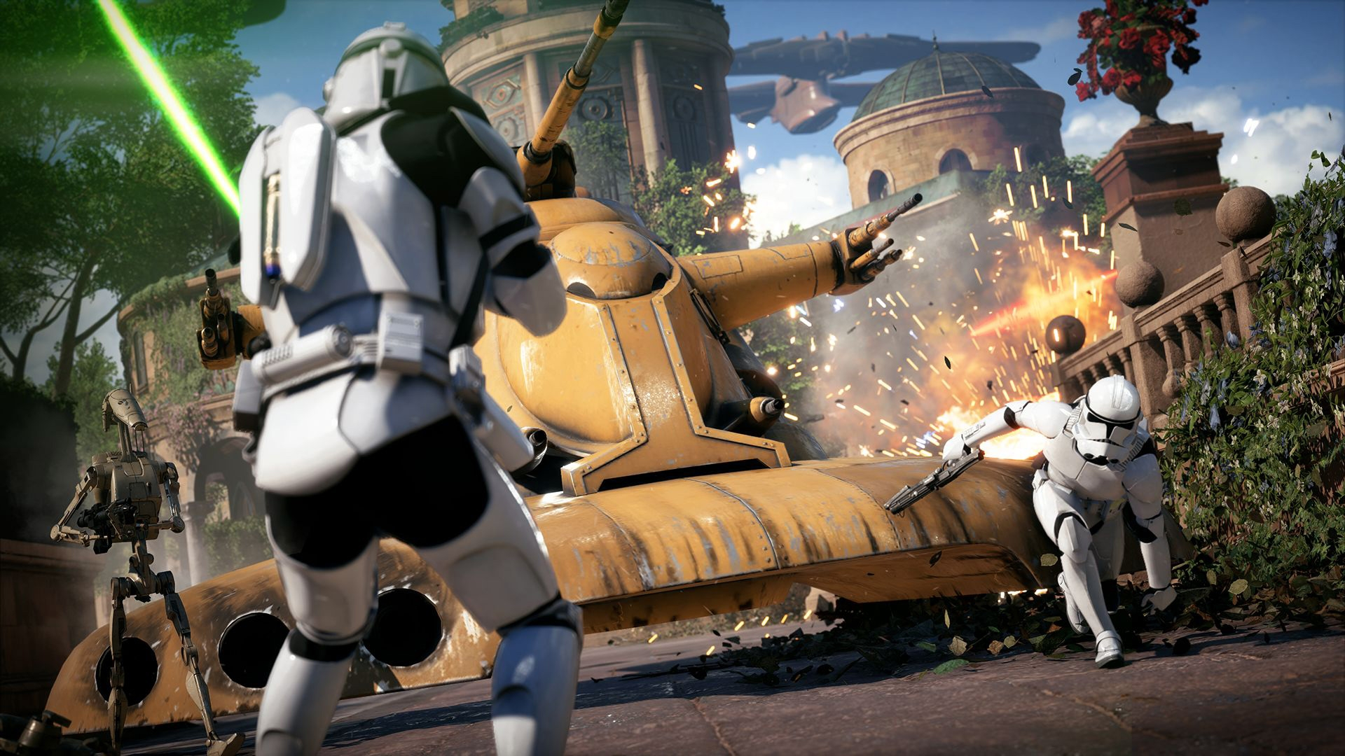 Photo of Anche Star Wars Battlefront II si mostra nel suo trailer di lancio