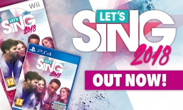 Let's Sing 2018 debutta su Nintendo Switch!