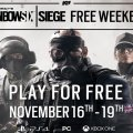 Annunciato nuovo weekend free per Tom Clancy's Rainbow Six: Siege