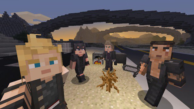 Photo of Final Fantasy XV – Disponibili le skin per Minecraft