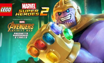"LEGO Marvel Super Heroes 2 – DLC ""Marvel's Avengers: Infinity War"" disponibile"