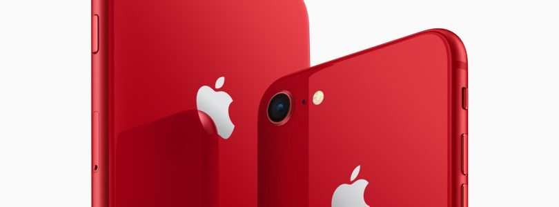 Apple annuncia iPhone 8 e iPhone 8 Plus (PRODUCT)RED Special Edition