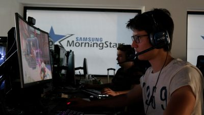 Logitech supporta Samsung Morning Stars, il team italiano di eSport