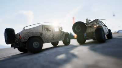 "Gravel: disponibile il DLC ""Armored Operation"""