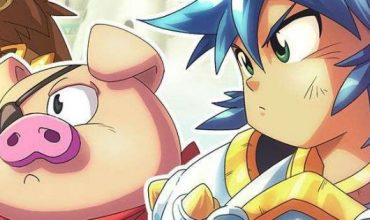 Monster Boy and the Cursed Kingdom, un video off-screen