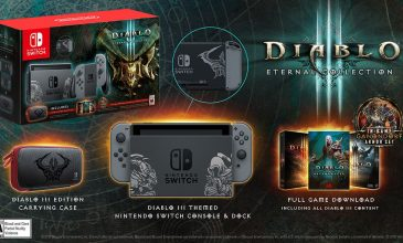 Diablo III: Eternal Collection e Nintendo Switch