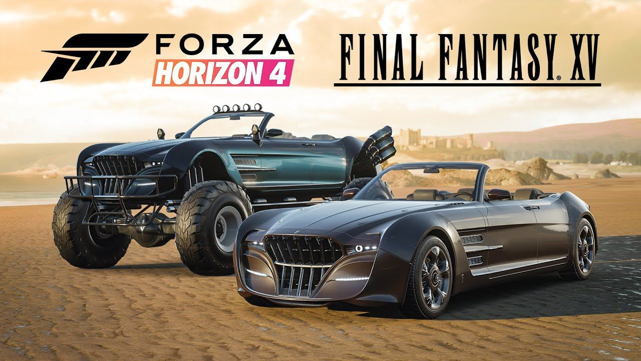 Photo of Due macchine di Final Fantasy XV presto disponibili su Forza Horizon 4!