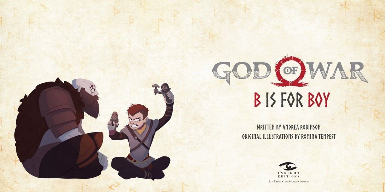 Photo of B is for Boy: il nuovo libro dedicato a God of War