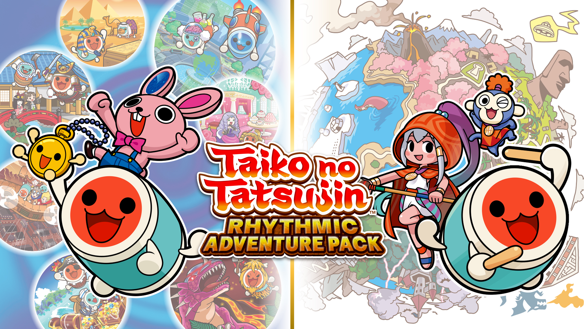 Photo of BANDAI NAMCO Entertainment Europe svela TAIKO NO TATSUJIN: RHYTHMIC ADVENTURE PACK